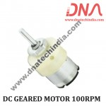 DC GEARED MOTOR 100RPM