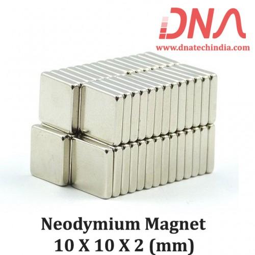 Neodymium Magnet 10X10X2(mm)