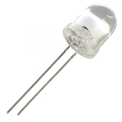 WHITE LED 10MM