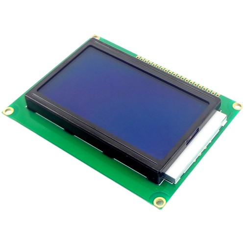 JHD12864 128X64 Blue GLCD Display