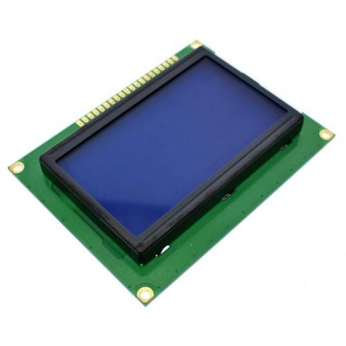 12864 128x64 Blue GLCD Display