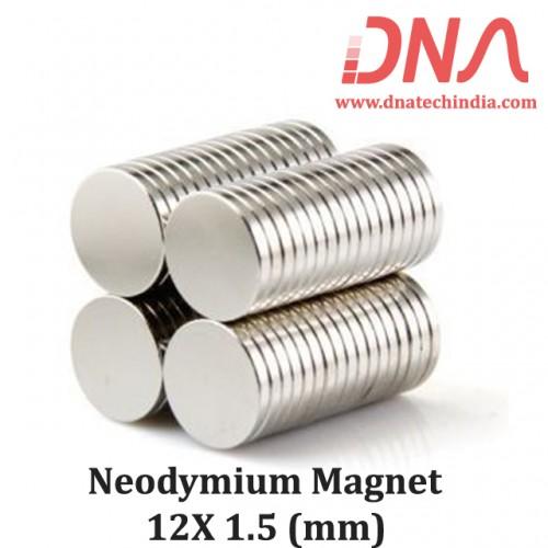 Neodymium Magnet 12mmx1.5mm