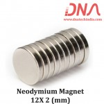 Neodymium Magnet 12X2(mm)