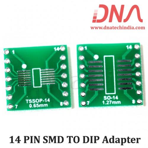 14 PIN SMD TO DIP Adapter
