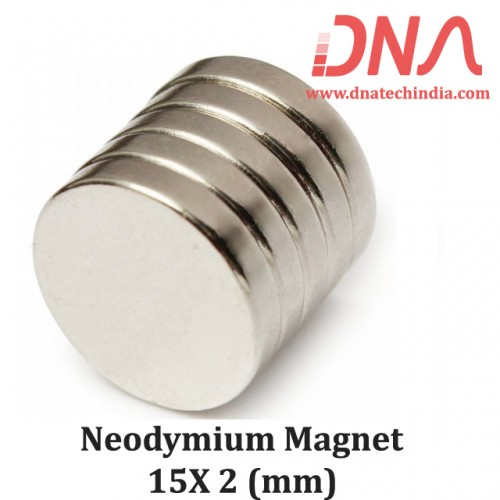 Neodymium Magnet 15X2(mm)