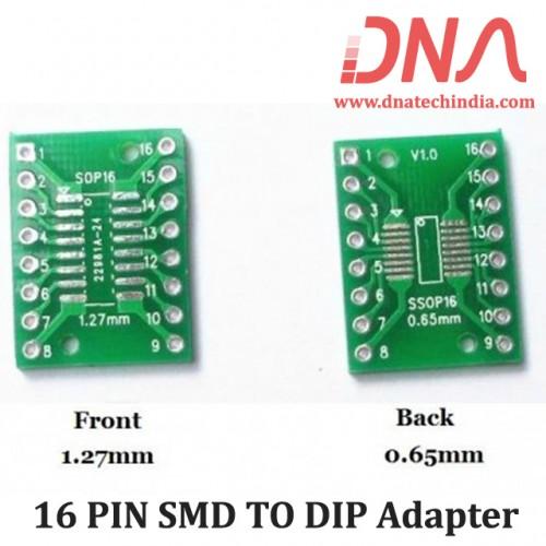 16PIN SMD TO DIP Adapter