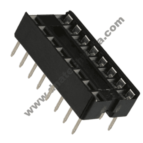 16 PIN IC BASE