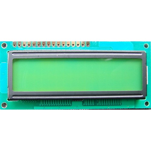JHD161 16X1 Green LCD Display