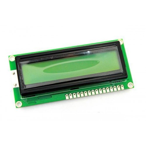 16x2 LCD Display Green