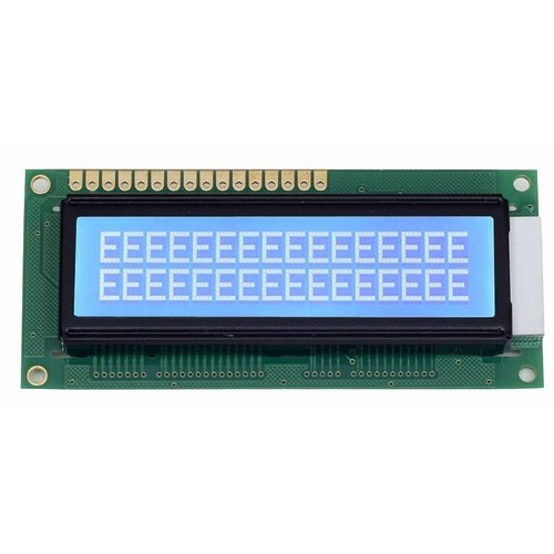 JHD162 16X2 Blue Jumbo LCD Display