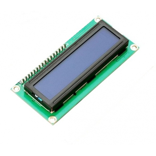 16X2 Blue LCD Display