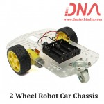 2 Wheel Robot Car Chassis