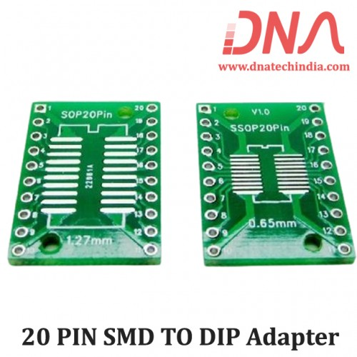 20 PIN SMD TO DIP Adapter