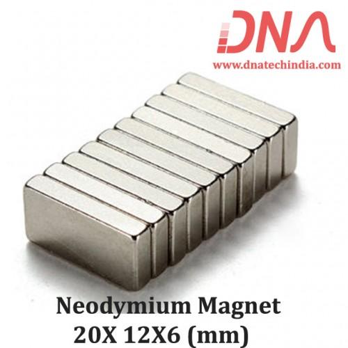 Neodymium Magnet 20X12X6(mm)