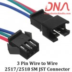 3 Pin Wire to Wire SM Connector (2517/2518)