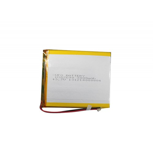 3.7 Volt 3000mAh LiPo Battery