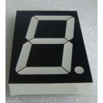 4 Inch Extra Large Red 7 Segment Display