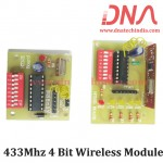 433Mhz 4 Bit Wireless Module