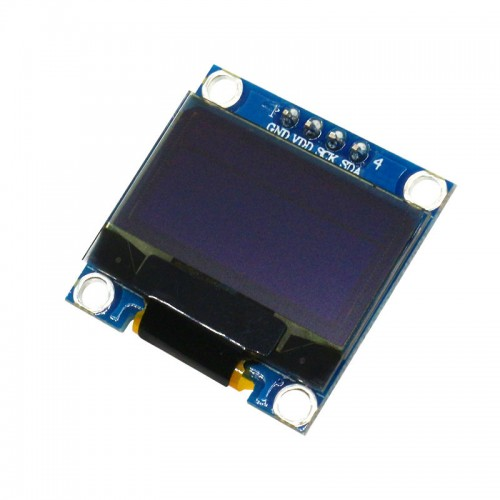 4Pin 128X64 Blue Color OLED Display Module