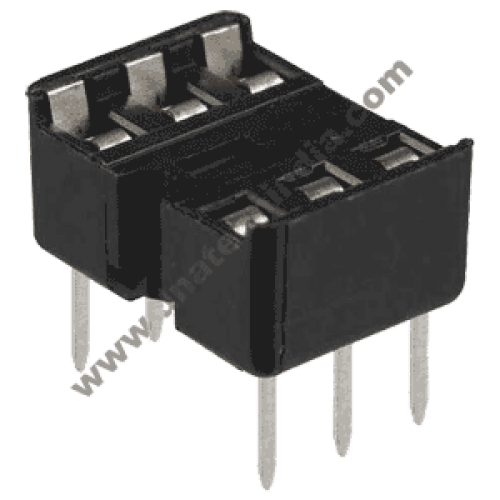 6 PIN IC BASE