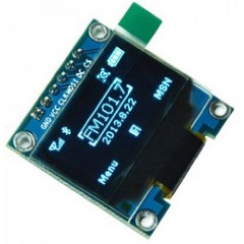 6Pin 128x64 Yellow Blue OLED Display