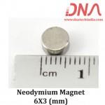 Neodymium Magnet 6X3(mm)