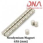 Neodymium Magnet 6mm x 6mm