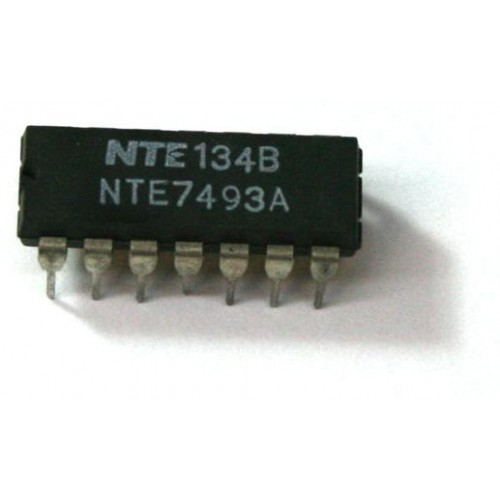 74LS93 BINARY COUNTER IC