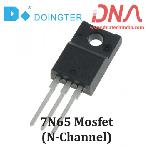 7N65 N-Channel MOSFET (Doingter)
