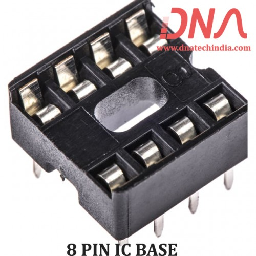 8 PIN IC BASE