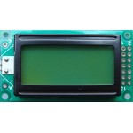 JHD82 8X2 Green LCD Display