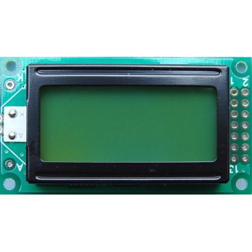 JHD82 8X2 Green LCD Display