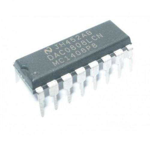 DAC0808 8-bit DAC