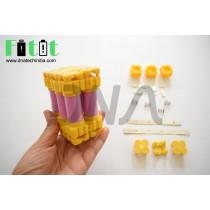 Fitit DIY 18650 Solderless Battery Pack Assembly kit
