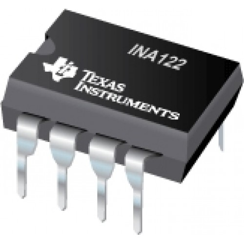 INA122 INSTRUMENTATION AMPLIFIER