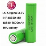 LG MJ1 18650 3500mah battery