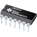 LM239 Quad Voltage Comparators