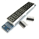 8-Digit MAX7219 Digital Display Module