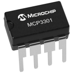 MCP3301 13-Bit Analog to Digital Convertor