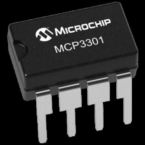 MCP3301 13-Bit Analog to Digital Convertor