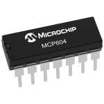 MCP604 Single Supply CMOS Op Amp
