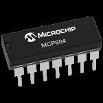 MCP604 Single Supply CMOS Op Amp