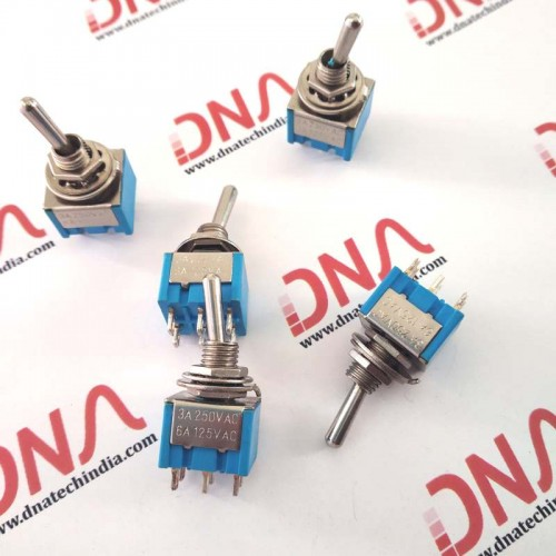 DPDT 2 way Toggle Switch (ON-ON)