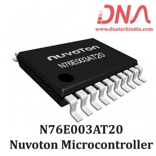 Nuvoton N76E003AT20 Microcontroller