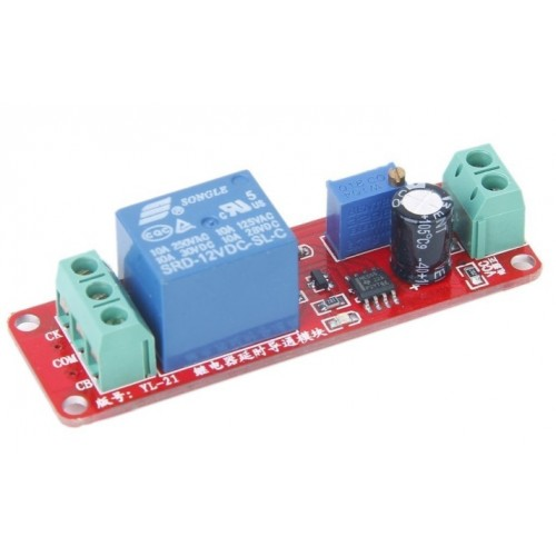 NE555 Delay Timer Switch Module