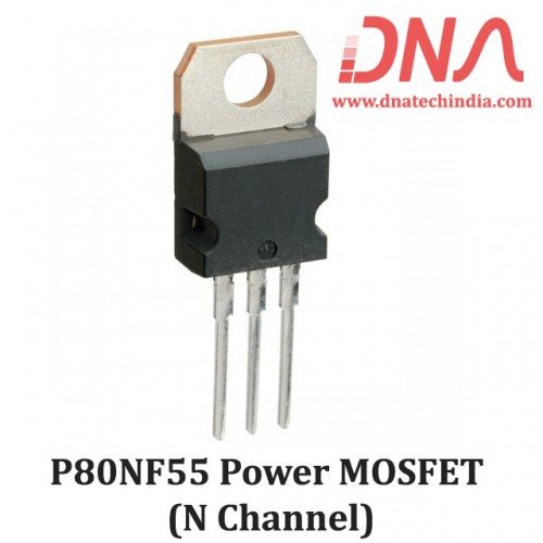 P80NF55 N-Channel Power MOSFET