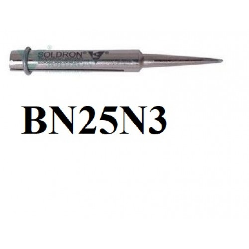 Soldron Soldering 25W Nickel Coated Needle 3mm Bit