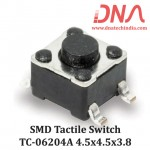 SMD Tactile Switch 4.5x4.5x3.8 (TC 06204)