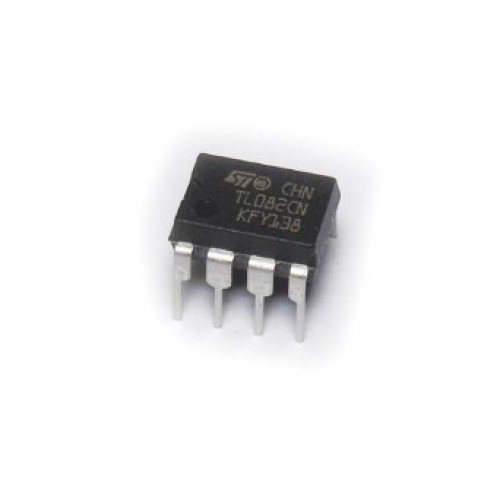 Buy online TL082 opamp at low cost in India from DNA Technology