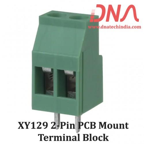 XY129 2 Pin PCB Mount Screwable Terminal Block